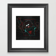 Revolver Framed Art Print