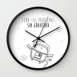 Opi Gravedad Wall Clock
