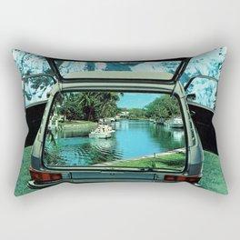 Paradise Awaits Rectangular Pillow