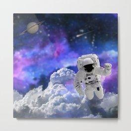 Astronaut Life Metal Print