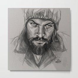 Jason Momoa - Tiger eyes Metal Print