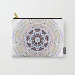 Focus and Creativity Boho Stamp Sacred Geometry Mandala Carry-All Pouch