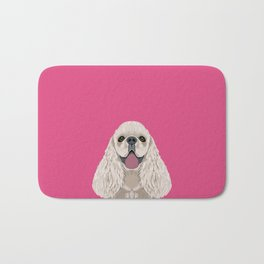 Harper - Cocker Spaniel phone case gifts for dog people dog lovers presents Bath Mat