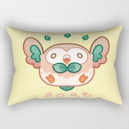 Rowlet Borb Rectangular Pillow