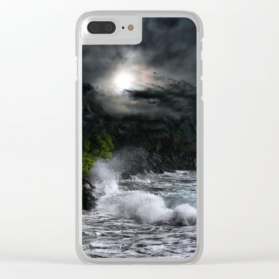The Supreme Soul Clear iPhone Case
