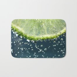 Lemony Limy Bath Mat