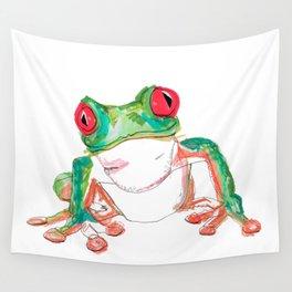 Froglet Wall Tapestry