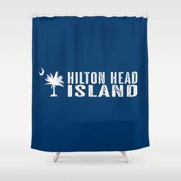 Hilton Head Island, South Carolina Shower Curtain