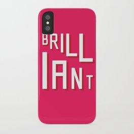 Brilliant iPhone Case