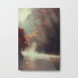 Breathing River Metal Print