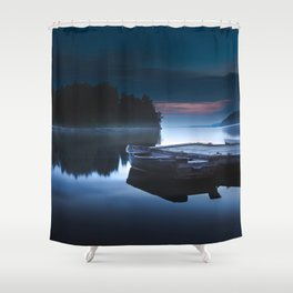 Where did all go Shower Curtain