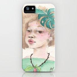 Lia iPhone Case