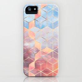 Magic Sky Cubes iPhone Case