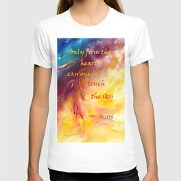 Rumi ~ Touch the Sky T-shirt