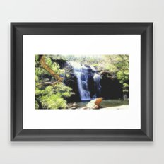 McKenzie Falls Framed Art Print