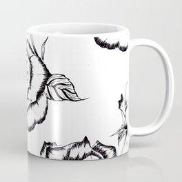 """""""Rose"""" Pattern Coffee Mug"""