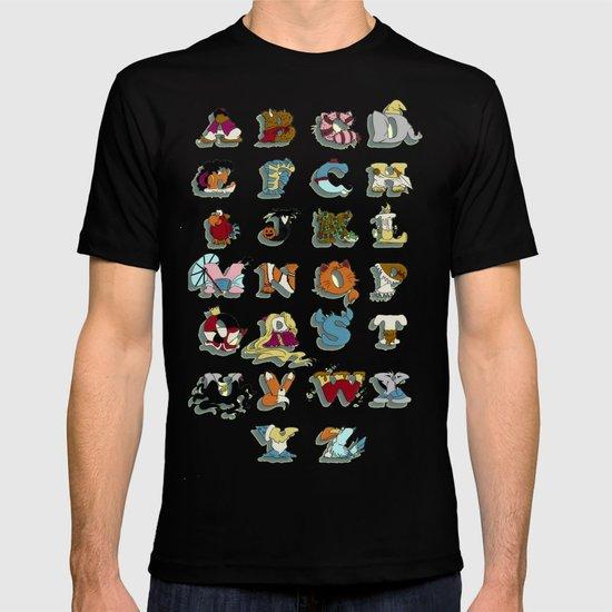 The Disney Alphabet T-shirt