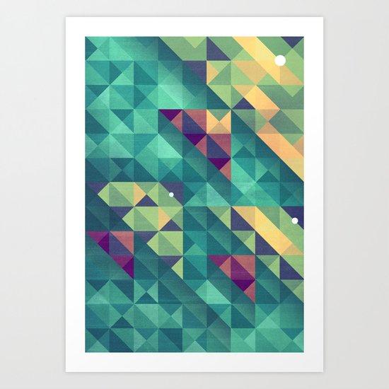 Let's take a swim Art Print
