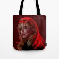 Laura Palmer from Twin Peaks Tote Bag