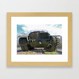 Tanker FOUR Framed Art Print
