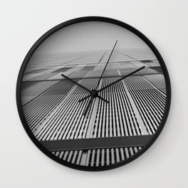 NEW YORK BUILDING.  Wall Clock
