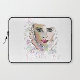 Beauty (part 1)- Watercolor series Laptop Sleeve