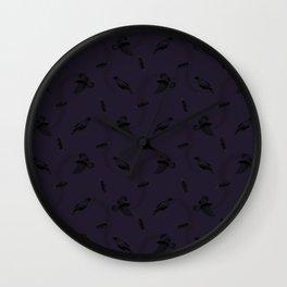 Murderous Corvus Wall Clock