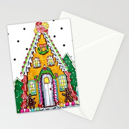 Gingerbread Welcome Stationery Cards