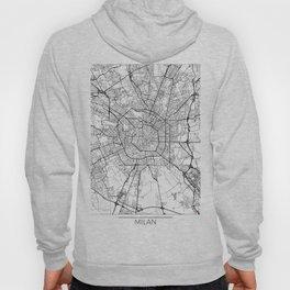 Milan Map White Hoody