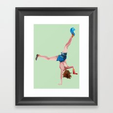 Playing Framed Art Print