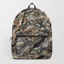 Stone background Backpack
