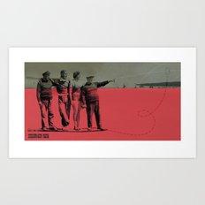 X MARKS// Art Print