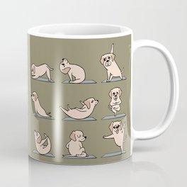 Labrador Retriever Yoga Coffee Mug