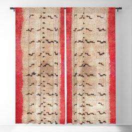 Tsudrukt South Tibetan Tiger Skin Rug Print Blackout Curtain