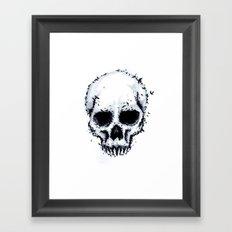 Murder Skull Framed Art Print