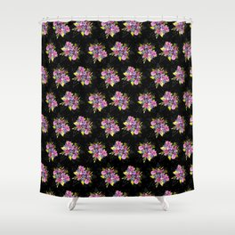 magenta bouquet Shower Curtain