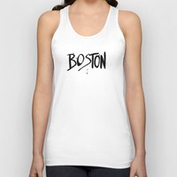 boston Tank Tops featuring Boston by Talula Christian