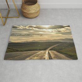 It's About The Journey Rug