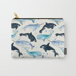 Whales, Orcas & Narwhals Carry-All Pouch