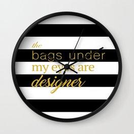 designer bags Wall Clock