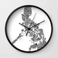 philippines Wall Clocks featuring Paranormal Philippines (white) by Rev Cruz