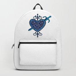 Erzulie Dantor Veve Sigil Backpack