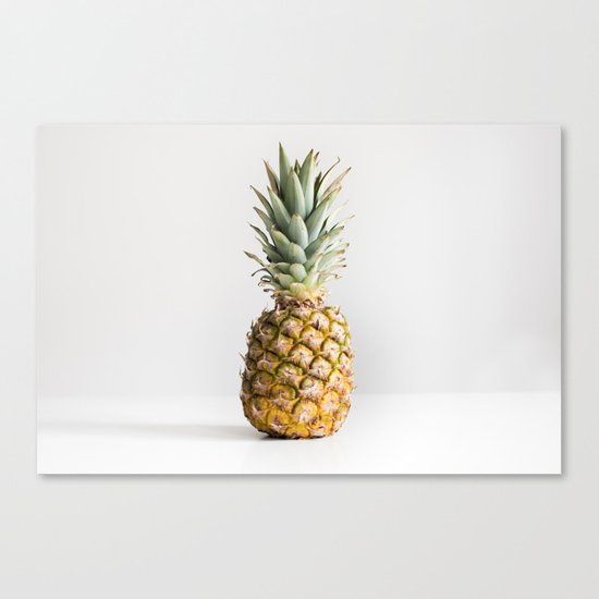 Ananas photo Canvas Print