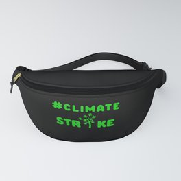 ClimateStrike Climate Change Environment green Fanny Pack