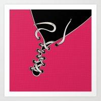 shoe Art Prints featuring SHOE by Gal Ashkenazi