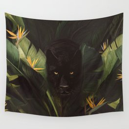 Hello Panther! Wall Tapestry