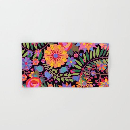 Just Flowers Hand & Bath Towel