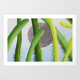a bugs perspective  Art Print