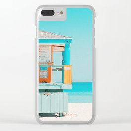 Santa Monica / California Clear iPhone Case