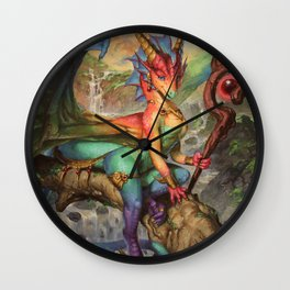 Prism Magic Wall Clock